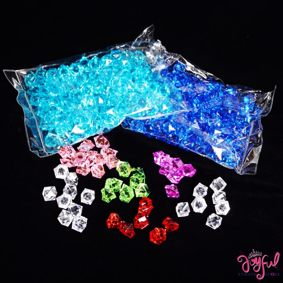 """1/2"""" Acrylic Bead Stones #ST1"""
