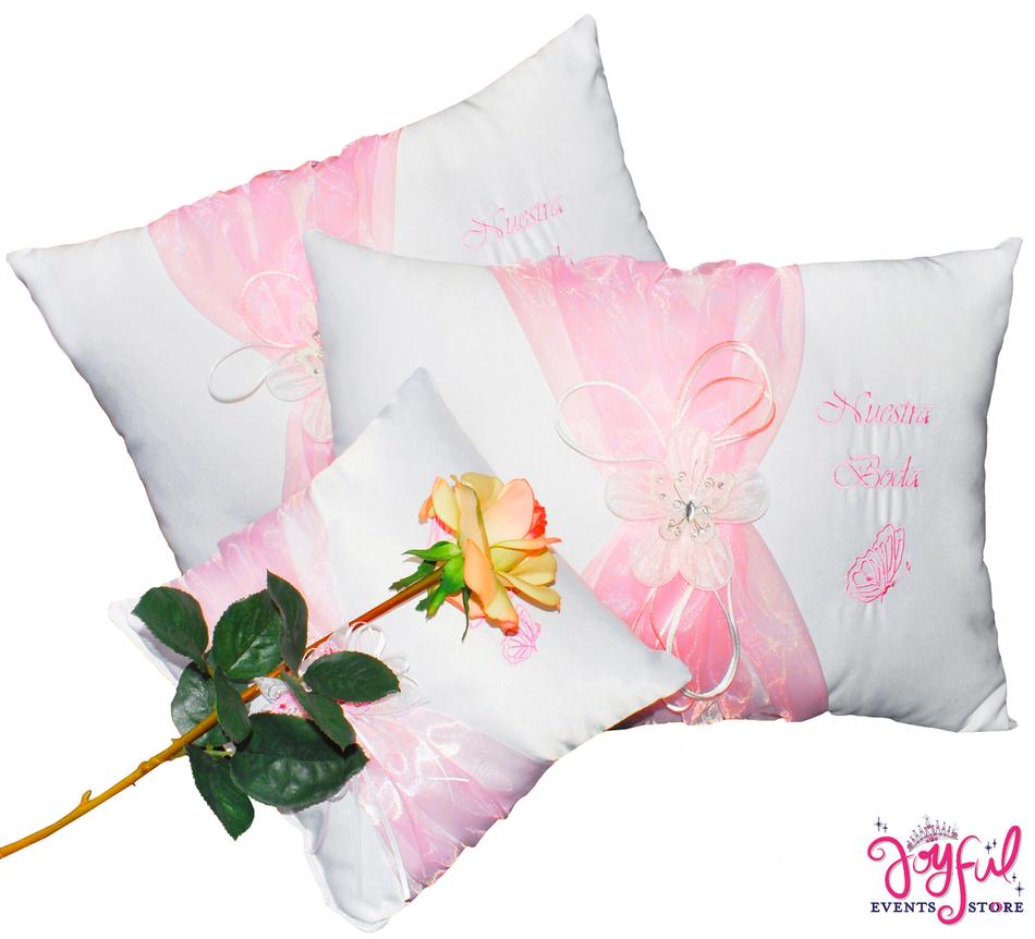 Wedding Large Kneeling Pillows - Cojines de Boda para Hincarse #WKP9