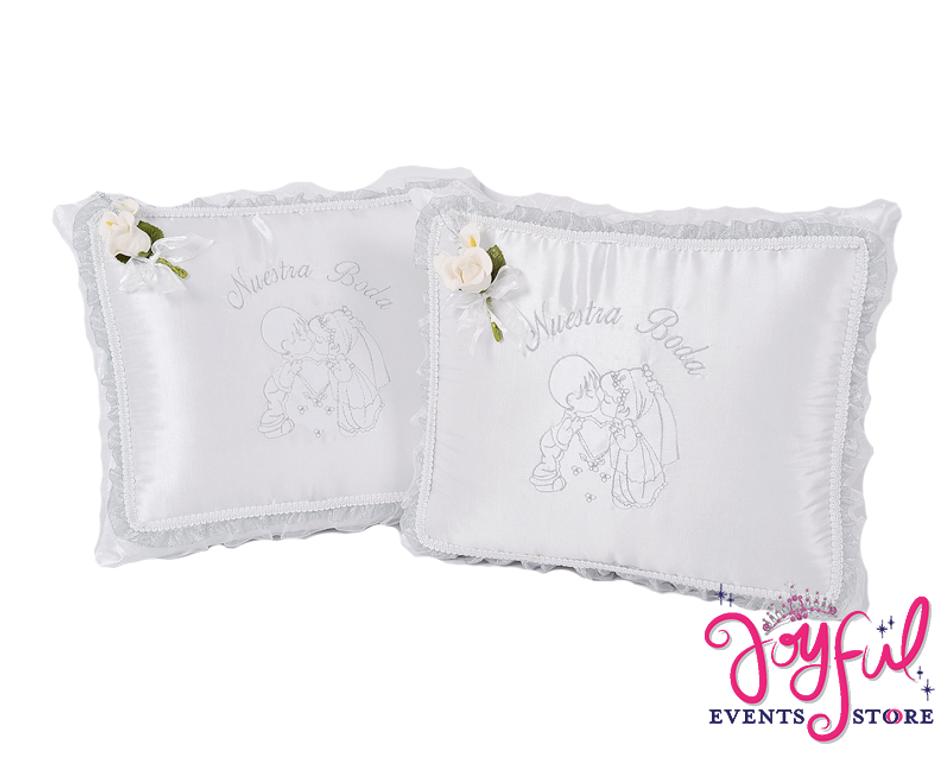Wedding Kneeling Pillows - Cojines de Boda para Hincarse #WKP10