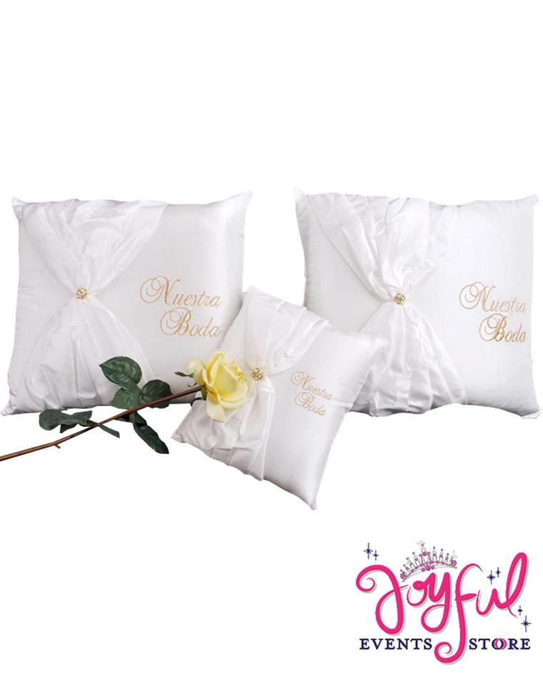 Wedding Kneeling Pillows - Cojines de Boda para Hincarse  #PLW6GD