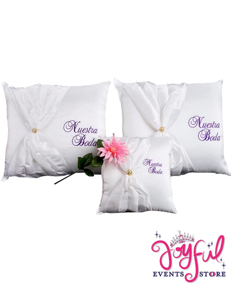 Wedding Kneeling Pillows - Cojines de Boda para Hincarse #PLW6PP
