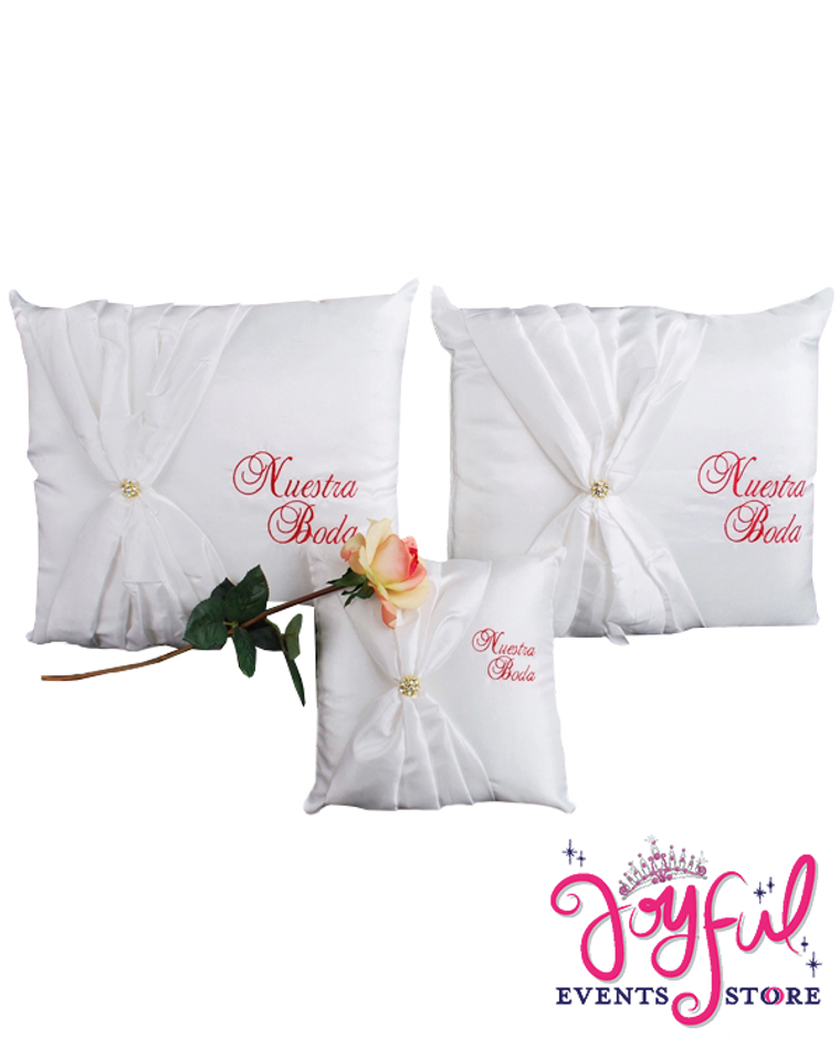 Wedding Kneeling Pillows - Cojines de Boda para Hincarse #PLW6RD