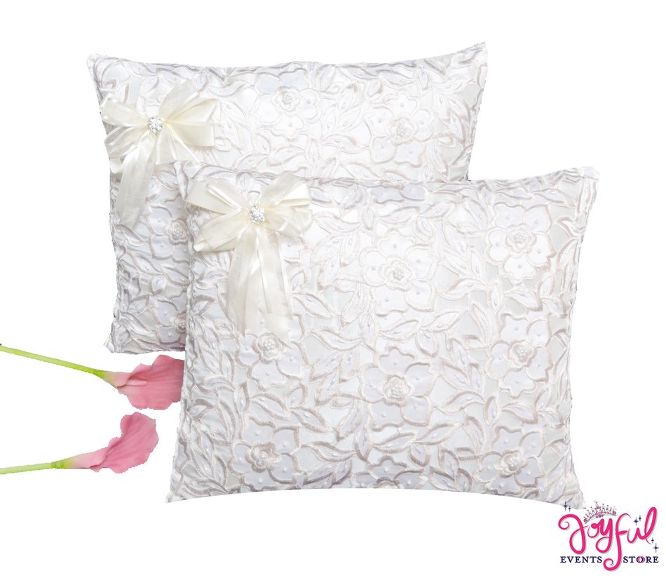 Wedding Kneeling Pillows - Cojines de Boda para Hincarse  #WKP7