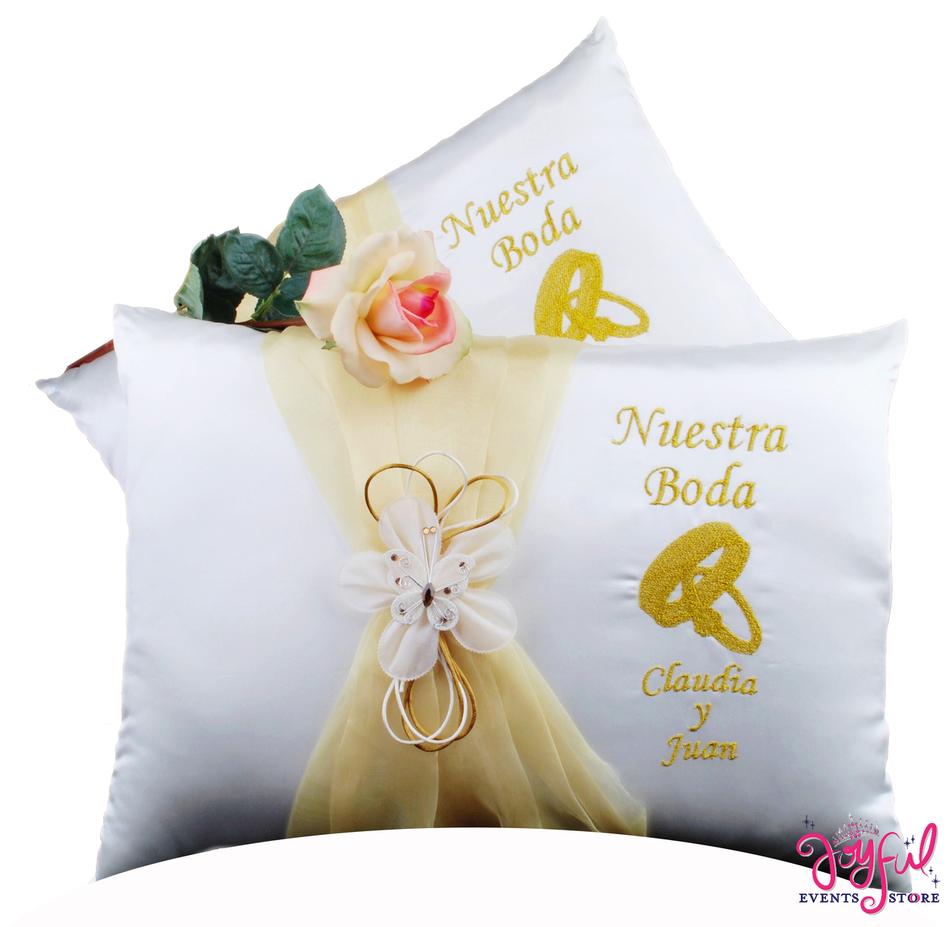 Wedding Kneeling Pillows - Cojines de Boda para Hincarse  #WKP8