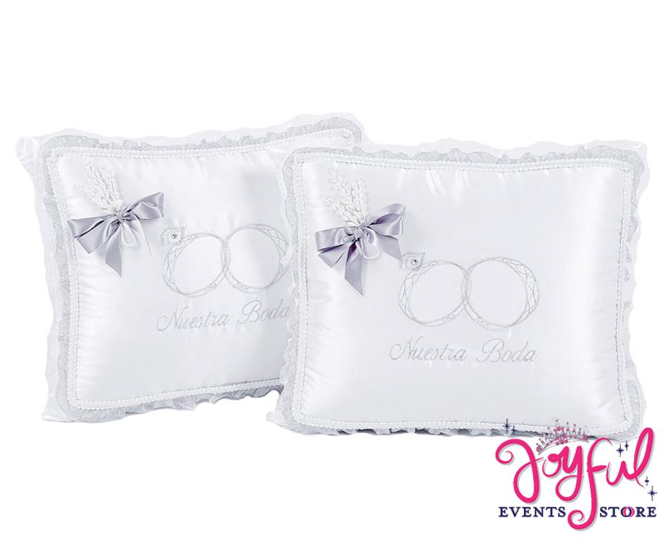 Wedding Kneeling Pillows - Cojines de Boda para Hincarse  #WKP6