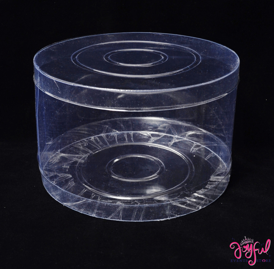 """12""""D x 10.25""""H  Plastic PVC Box - One Container #PLBX1"""