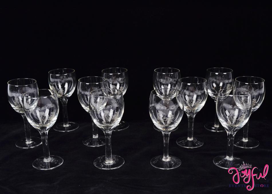 """Mis XV A–ños 5"""" Toasting Glasses - 14 Glasses #TG9"""