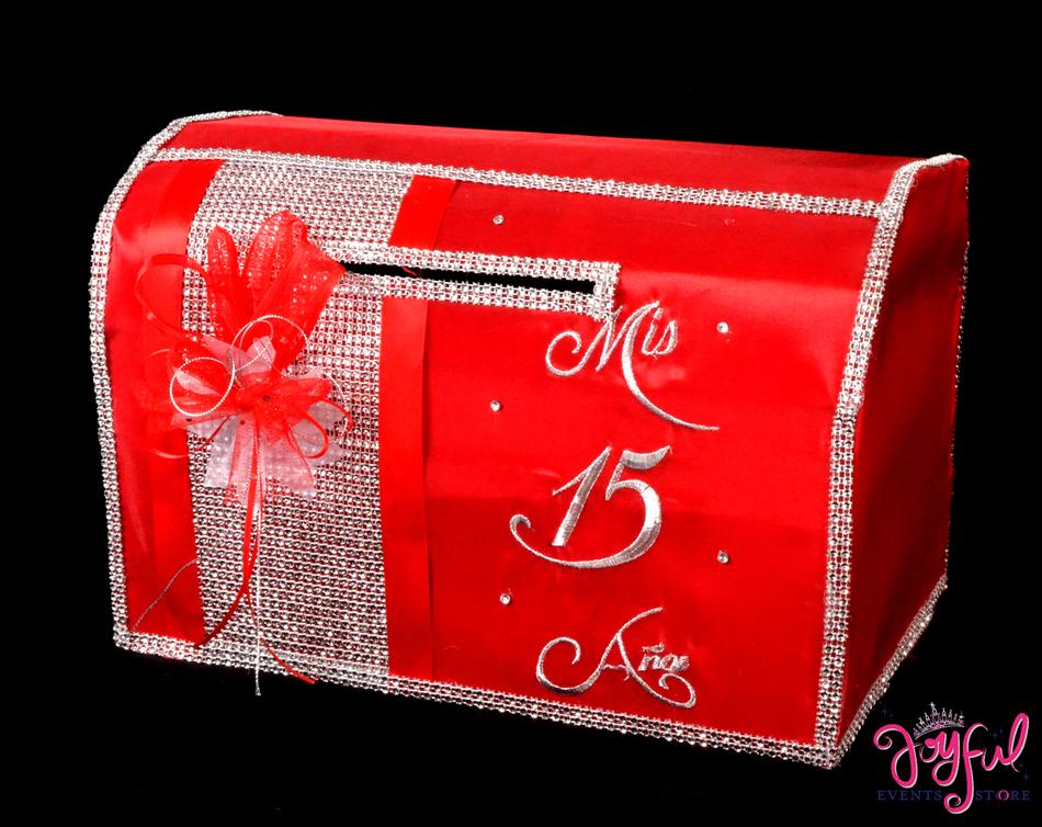 "15"" Quinceanera Wishing Well Money Box #MNYBX4"