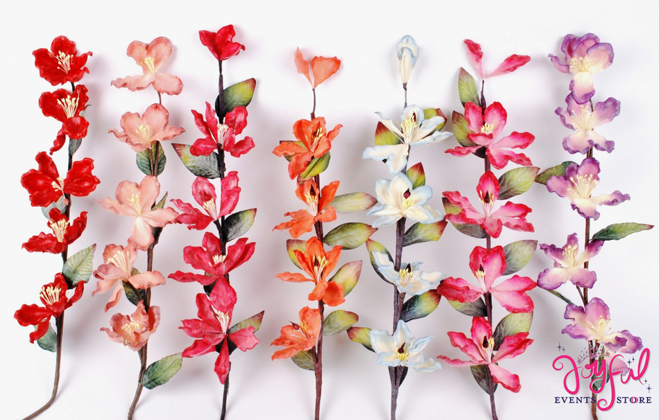 "24"" Latex Magnolia Flower Stems - One Stem  #FL8"