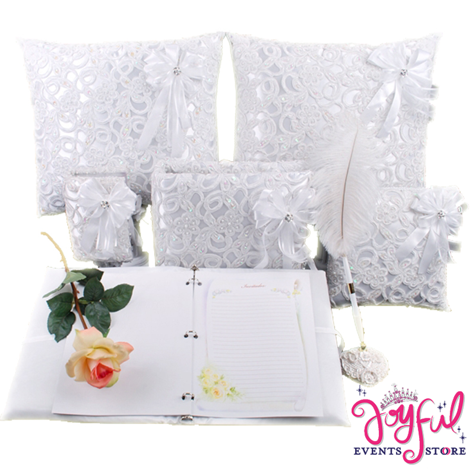 "12"" Wedding Guest Book #GBSET7"