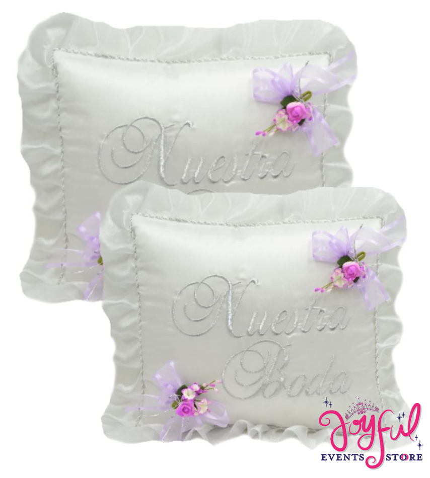 Wedding Kneeling Pillows - Cojines de Boda para Hincarse  #PLW45