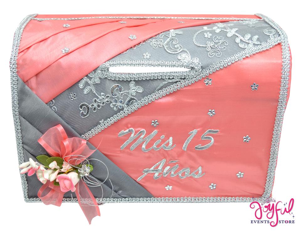 "15"" Coral Money Box #MNYBX12"