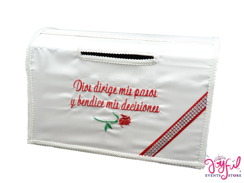 """15"""" White Money Box #MNYBX14"""
