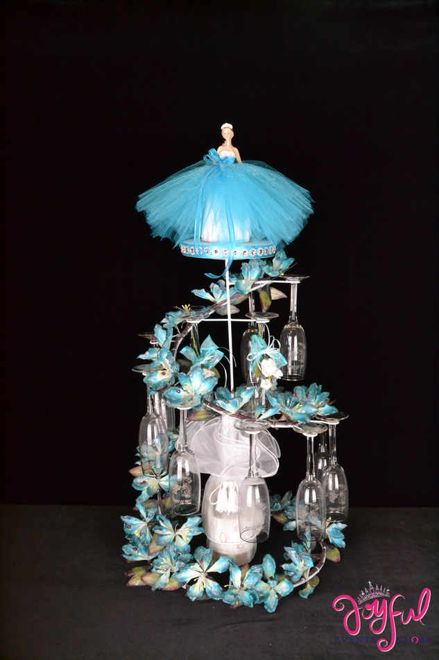"35"" Quinceanera Toasting Set #TS59"