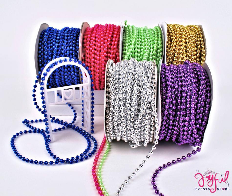 4mm Round Beads Cord #RIB21