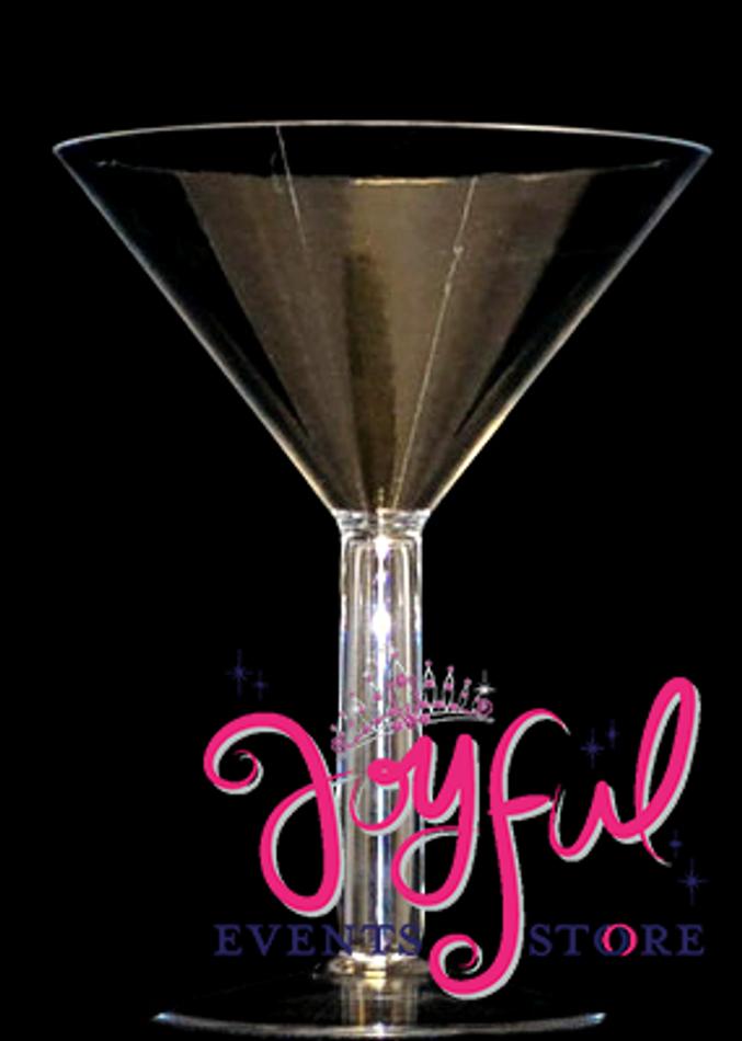 "12"" x 9"" Jumbo Martini Plastic Cup - One #VS10JE"