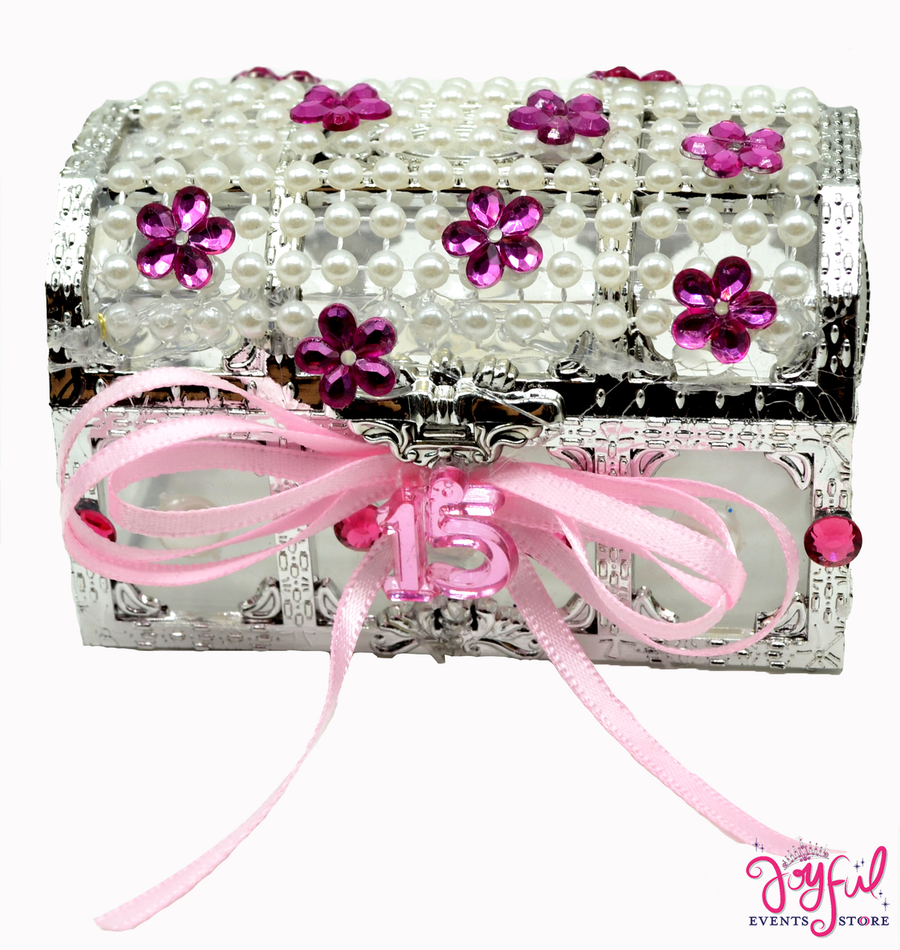 "3.5"" x 2.5"" Decorated Party Favox Box One - #PFB1JE"