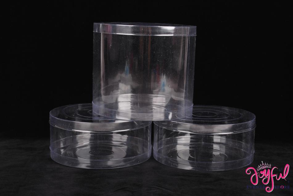 """7.25"""" x 2"""" Plastic PVC Box - One Container #PLBX4"""