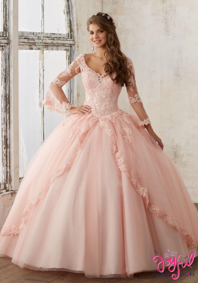 Mori Lee Valencia Quinceañera Dress Style 60015BL
