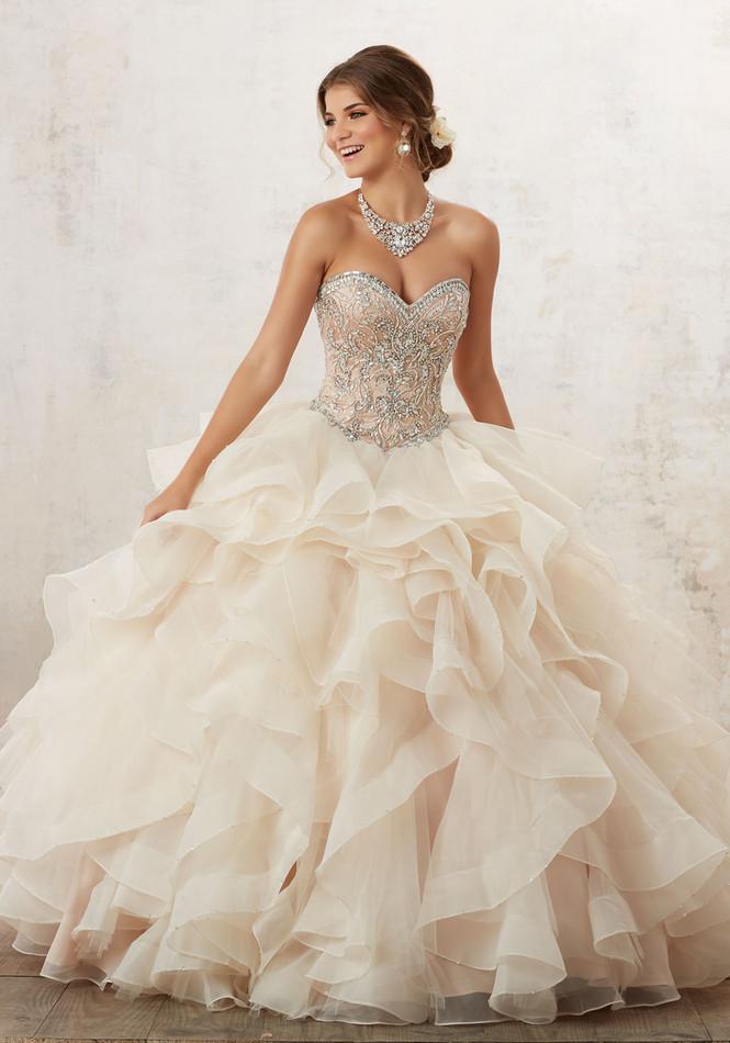 Mori Lee Vizcaya Quinceañera Dress Style 89126CR