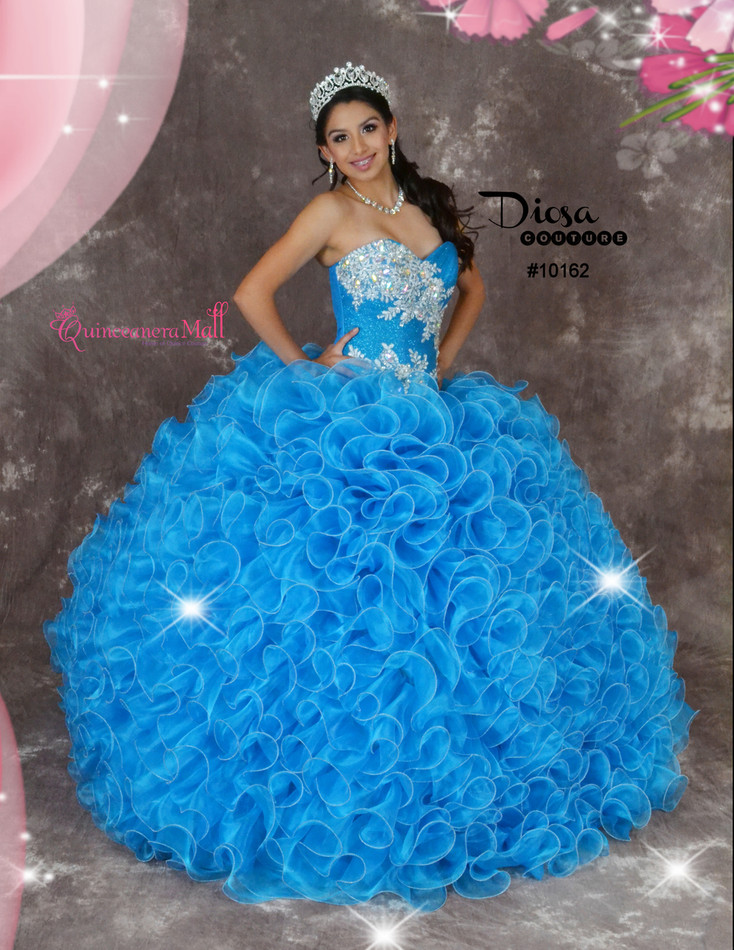 05c26277b6 Quinceanera Dress  10162JES - Joyful Events Store