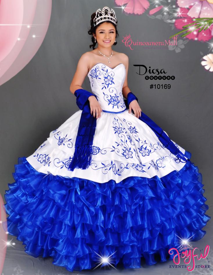 Charra Quinceanera Dress #10169JES