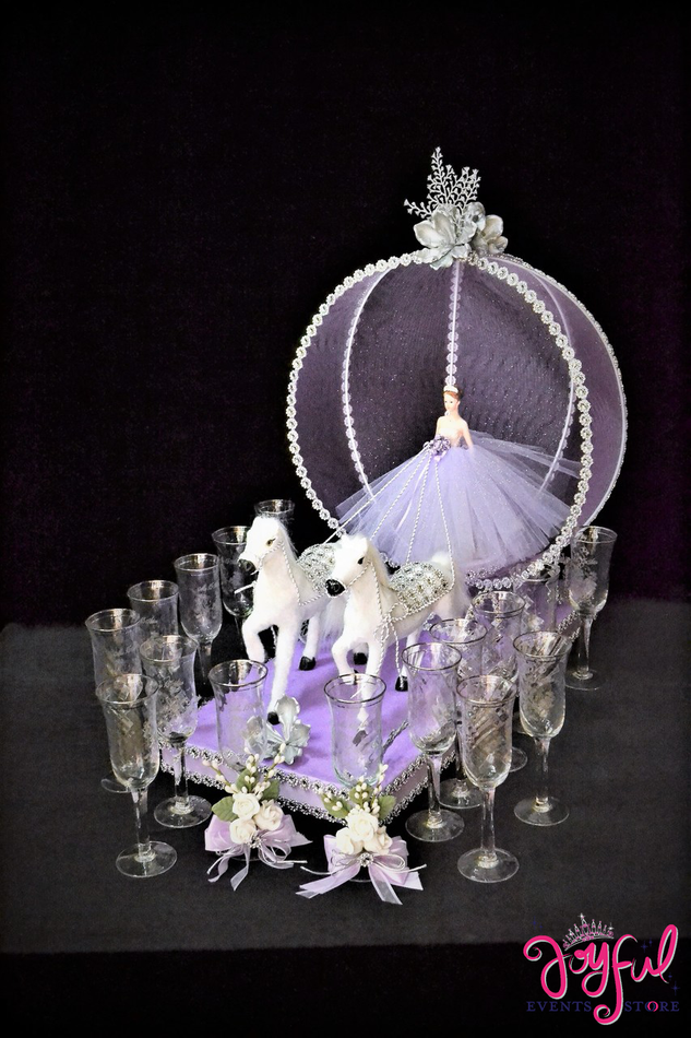 "21"" Cinderella Toasting Sets #TS97LL"