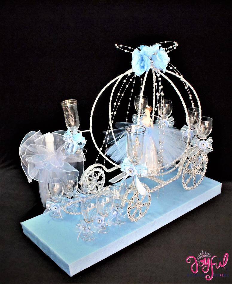 "18"" Cinderella Toasting Sets #TS88"