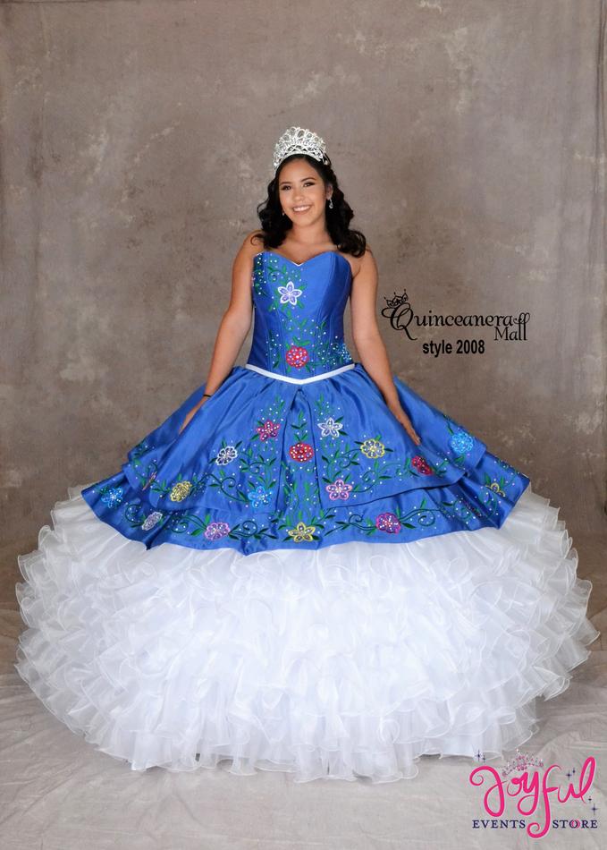 Charra Quinceanera Dress  #2008