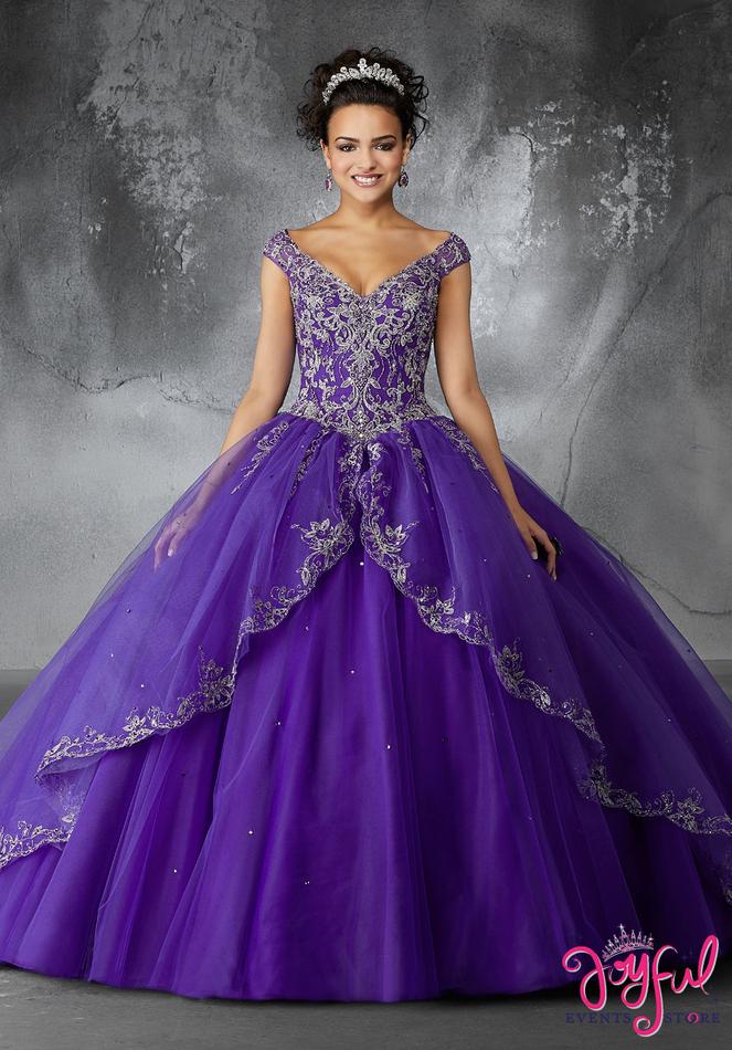 Mori Lee Valencia Quinceanera Dress Style 60054