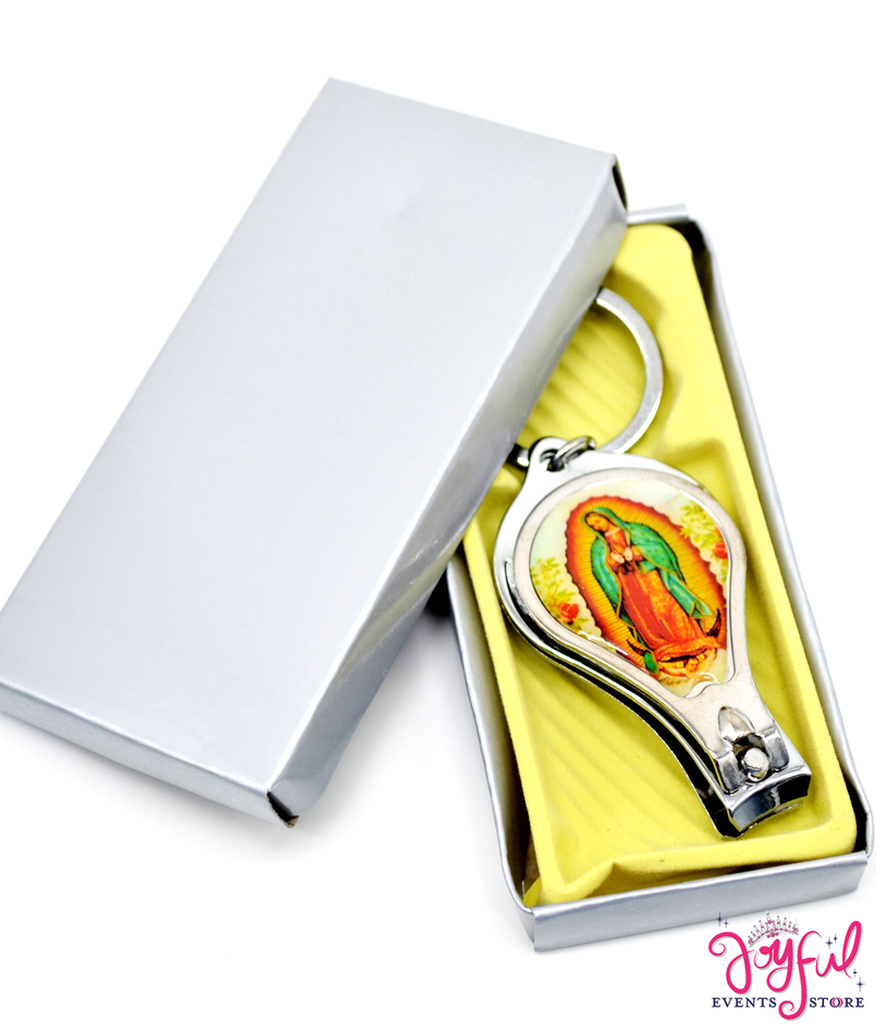 Virgen de Guadalupe Keychain Nail Clipper and Bottle Opener - One #PF77