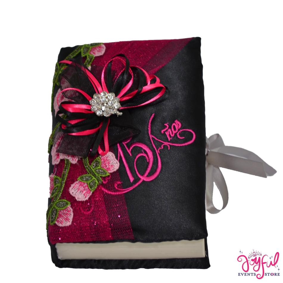 Pink Roses Charra Bible  #BB13