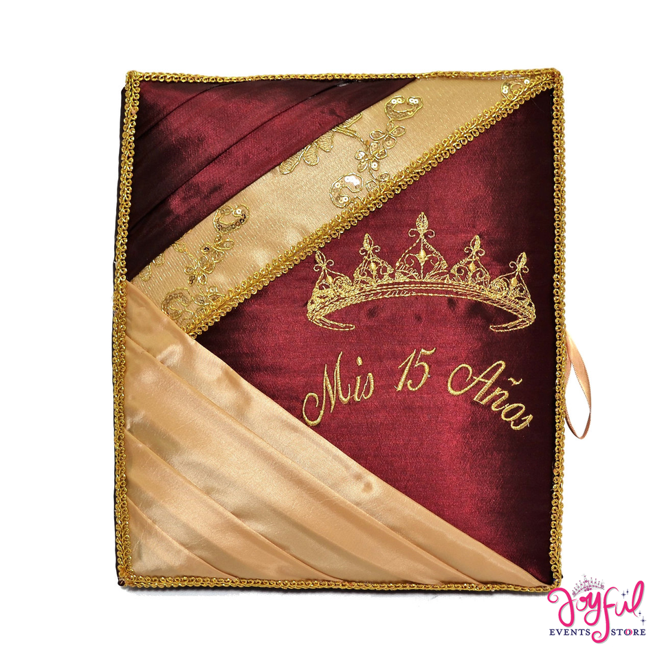 "12"" Quinceanera Guest Book #GB107"
