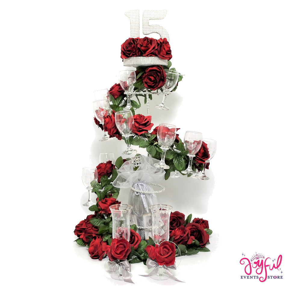 "35"" Quinceanera Toasting Set #TS83B"