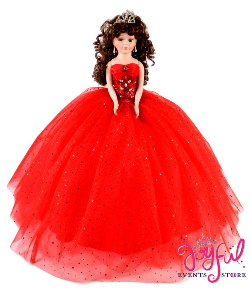 "18"" Quinceanera Doll #QD4918"