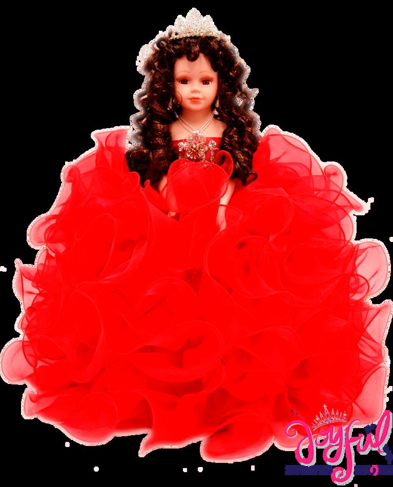 """18"""" Quinceanera Doll #QD48RD"""