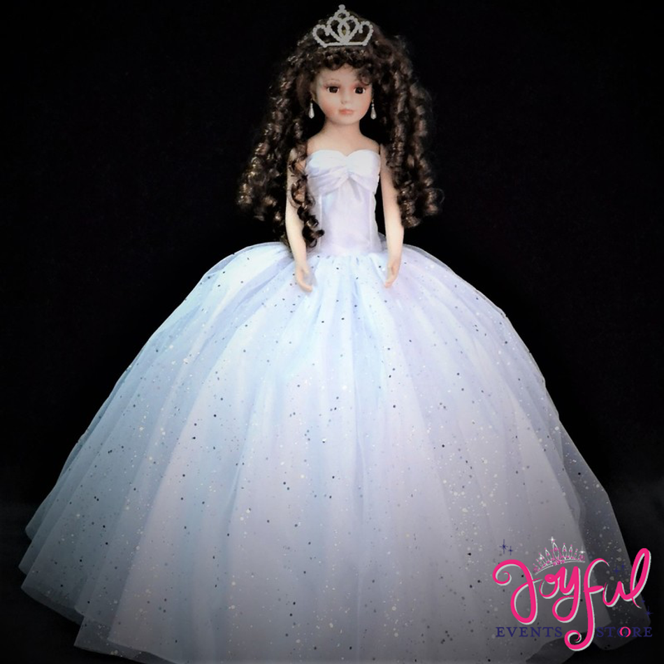 "20"" Quinceanera Last or Doll or Ultima Muneca #QD71WH"
