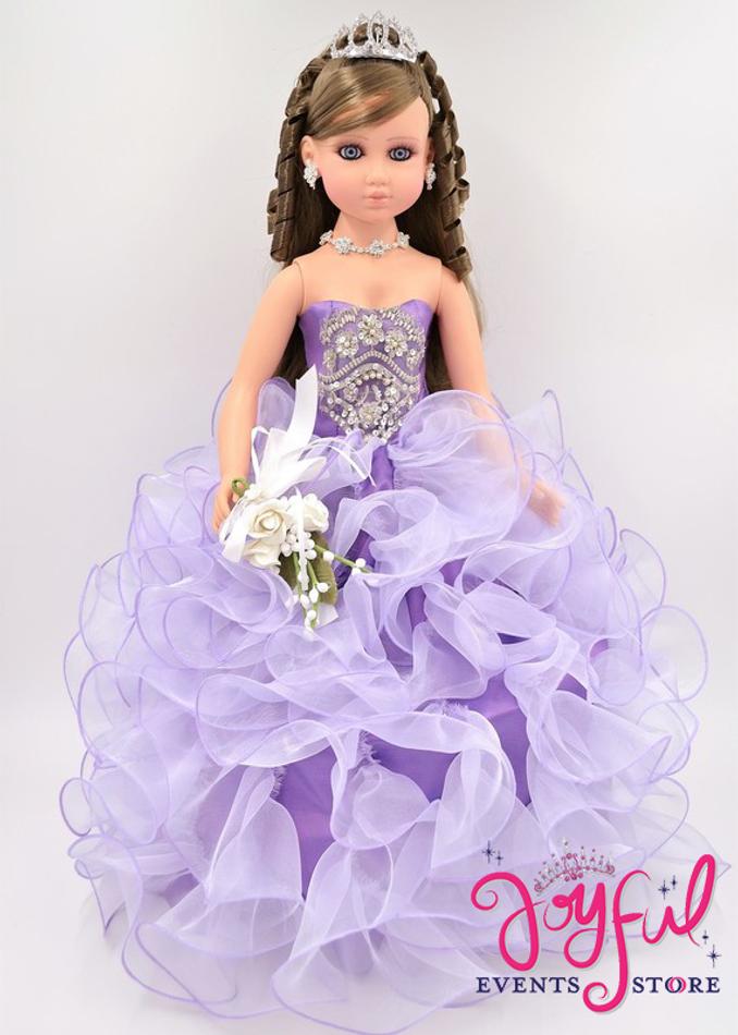"""20"""" Last Quinceanera Doll or Ultima Muneca #QD51LV"""