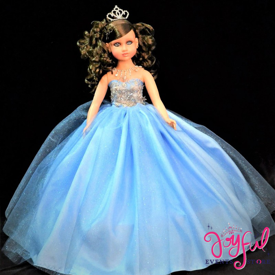 "20"" Last Quinceanera Doll or Ultima Muneca #QD69LB"
