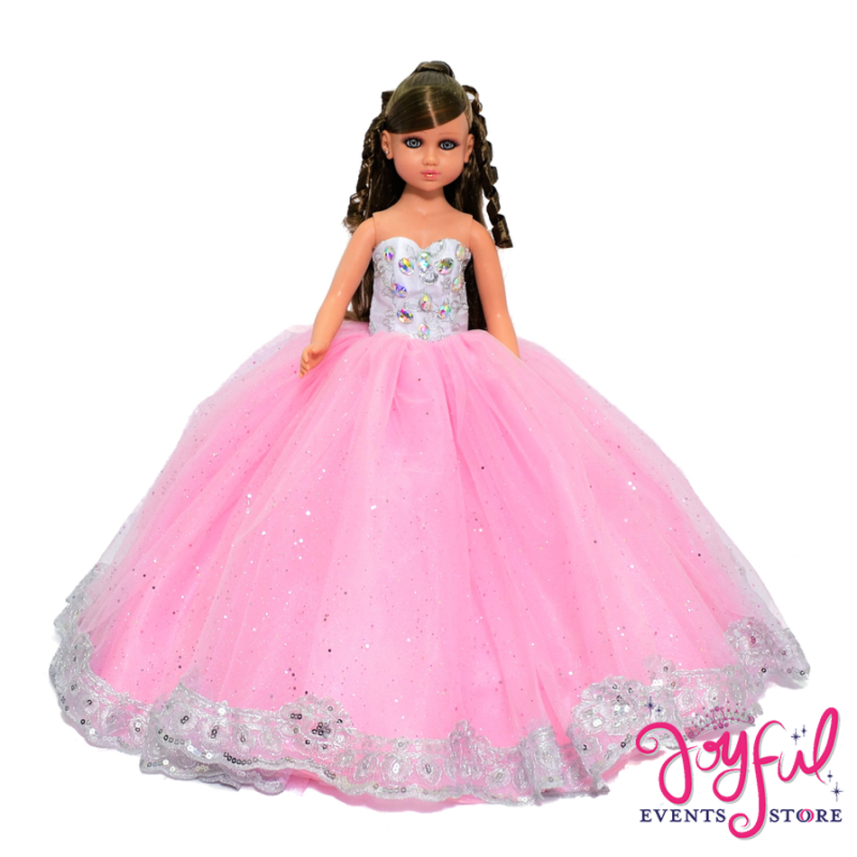 "20"" Princess Quinceanera Doll #QD81"