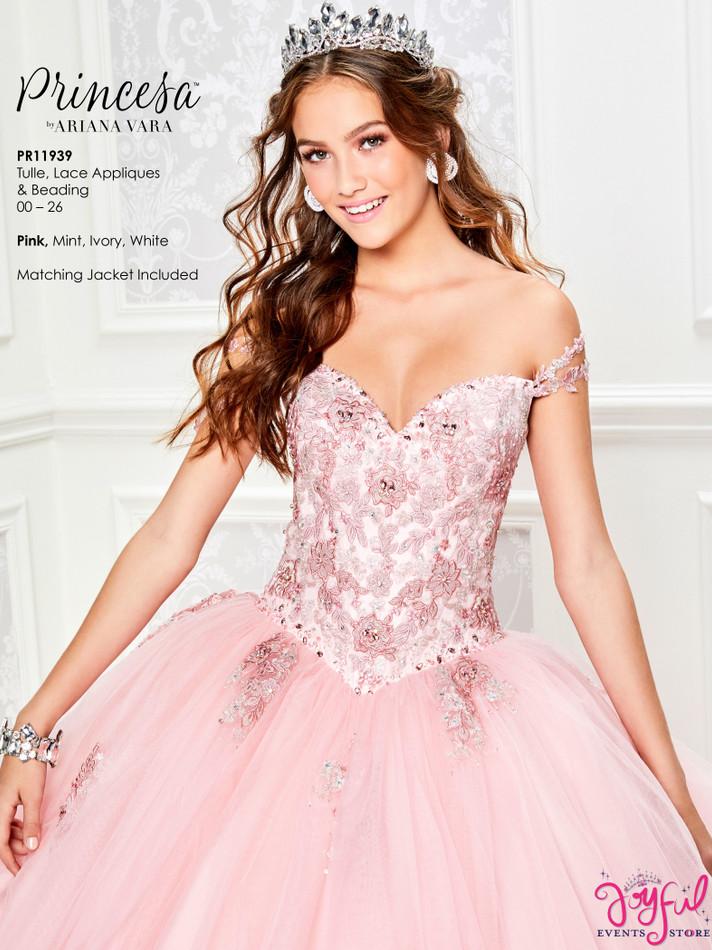 Pink Quinceanera Dress #PR11939PK
