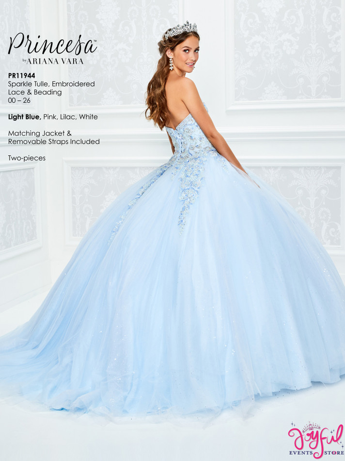 Light Blue Quinceanera Dress #PR11944LB