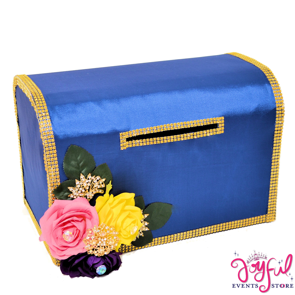 "15"" Pink Roses Money Gift Box #MNYBX37"