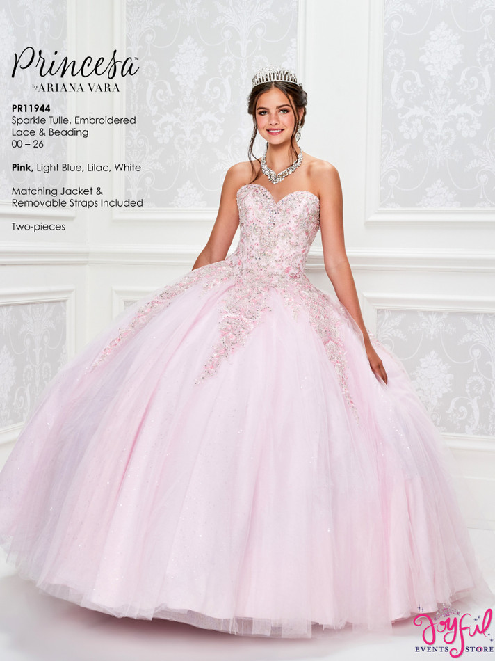 Pink Quinceanera Dress #PR11944PK
