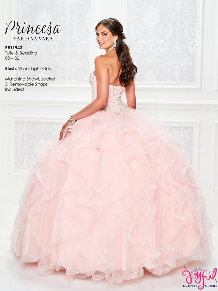 Blush Quinceanera Dress #PR11943BLS