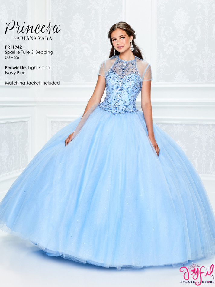 Periwinkle Quinceanera Dress #PR11942PRW