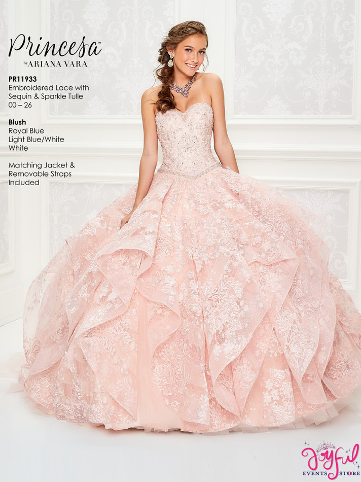 Blush Quinceanera Dress #PR11933BLS