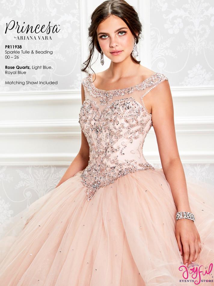 Rose Quartz Quinceanera Dress #PR11938RQ