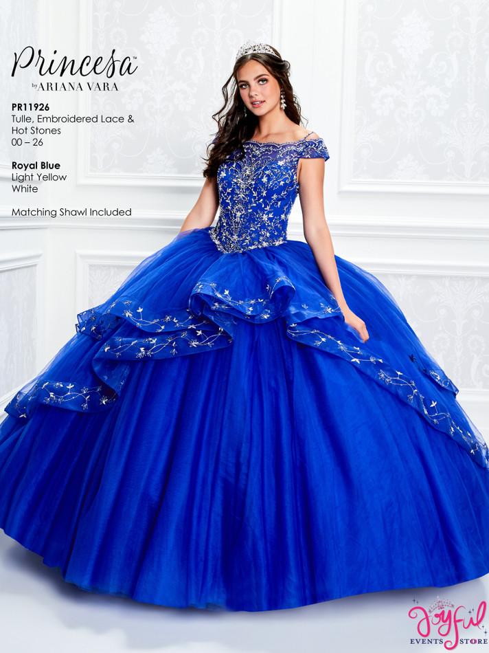 Royal Blue Quinceanera Dress #PR11926RB