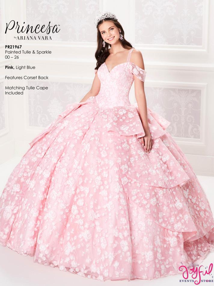 Pink Quinceanera Dress #PR21967PK